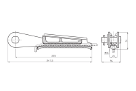 Зажимы натяжные клиновые типа НК-1-1