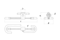 Гасители вибрации несимметричные типа ГВ