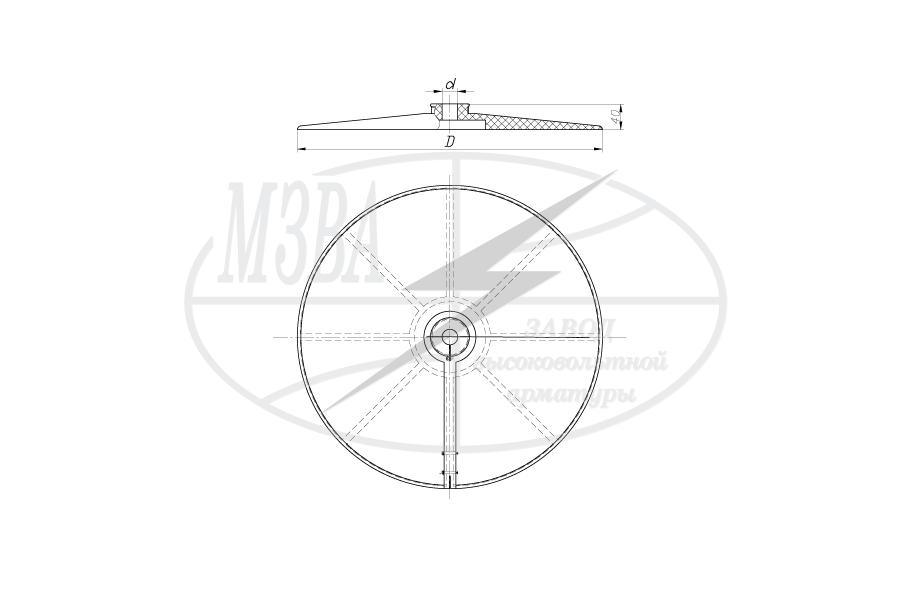 Устройства защиты птиц от поражения электрическим током на ВЛ барьерного  типа ЭПЗУ-300 и ЭПЗУ-470