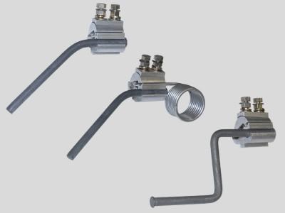 Устройства защиты от атмосферных перенапряжений со срывной головкой болтов зажима: УЗД-1.1С, УЗД-1.2С, УЗД-1.3С, УЗД -2.1С, УЗД-2С, УЗД-4С.